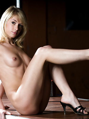 Showy Beauty  Adriana  Ass, Babes, Blondes, Striptease